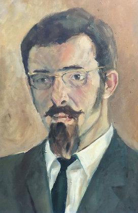 C3340-11, kunstenaar onbekend, Portret van een man