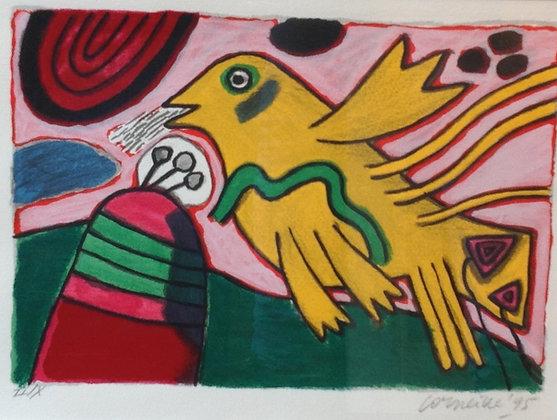 C1903-1, Corneille, Gele vogel
