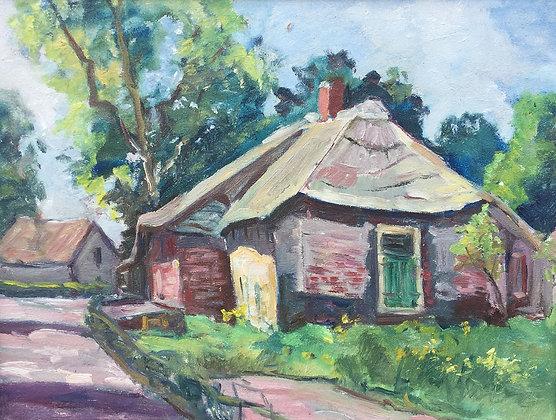 9857-25, Willem Frederik Daniels, Zicht op boerderij
