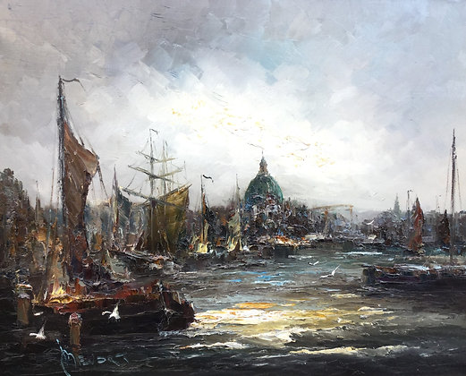 C4385, John Bevort, havengezicht