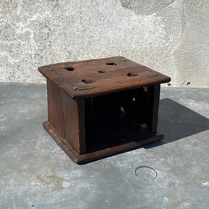 WS00070, Fraaie Antiek houten stoof
