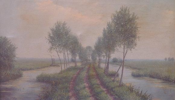 C1512, J.L. van der Meide, De Krimpenerwaard richting Berkenwoude