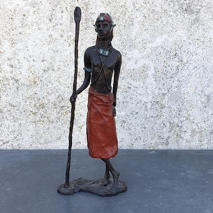 C3750-1, Marianne Houtkamp, Afrikaanse man
