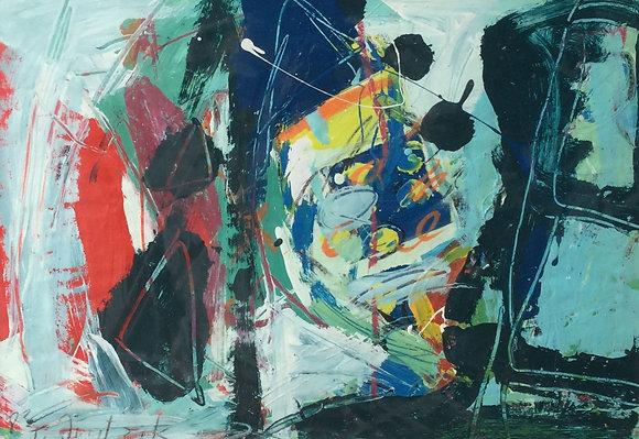 C4724-7, Tina Juretzek, abstracte voorstelling