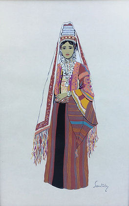 C4819-2, Susan Southby, Arab woman of Bethlehem