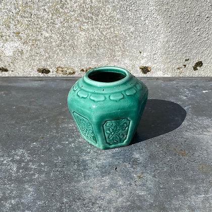 WS00061, Mini groene gemberpot, ca 7 cm hoog