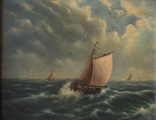 C4929-1, Schip op zee