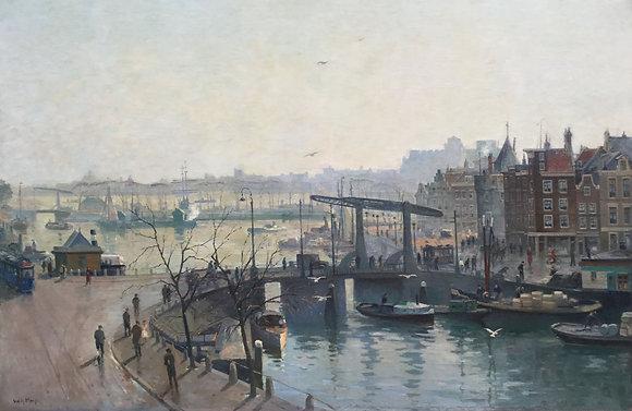 """C2836, Willem Anton Alexander Knip (1883-1967), """"Amsterdam"""""""