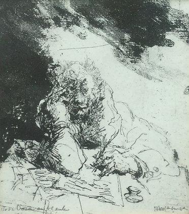 C4701-2, Jan Roelf Mensinga, Schrijver