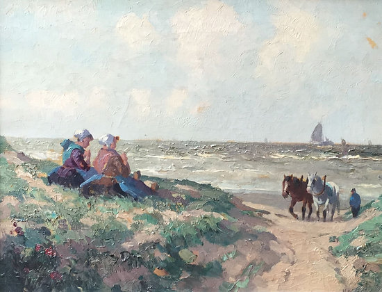 C4169, H. van Gessel (G.J. Delfgaauw), Strandgezicht