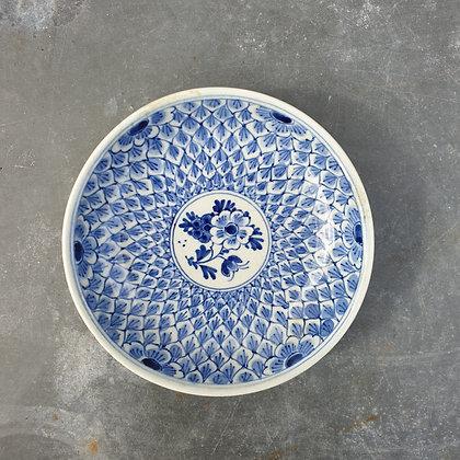 WS00018, Delfts blauw schoteltje, 20e eeuw, diameter 10,5 cm