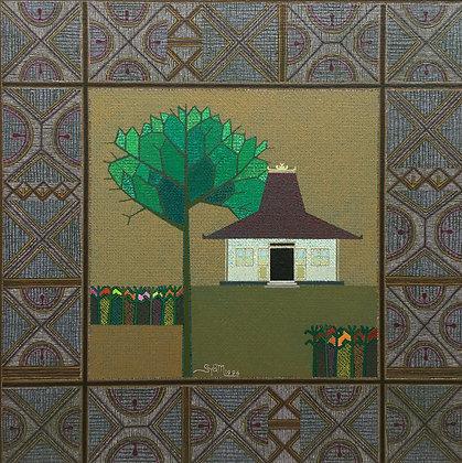 "C3883-13, Syam, ""Rumah""(huis)"