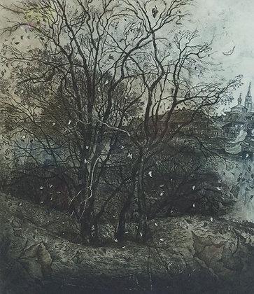 C4710-9, Aleksander Vetrov, stormachtig landschap