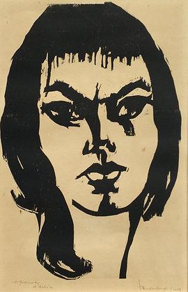 C3686-34, Flip van der Burgt, Portret van een persoon