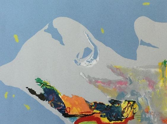 C3340-12, Ton van Kesteren, abstracte compositie