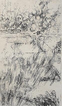 C4439, E. van St., Hollands landschap