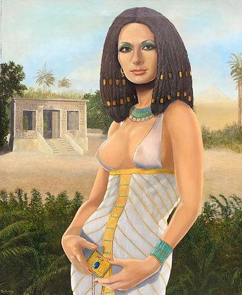 C4661-2, Jean Thomassen, Egyptische dame