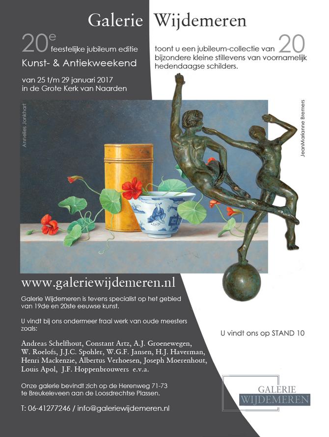 20e feestelijke jubileum editie van het Kunst en Antiekweekend