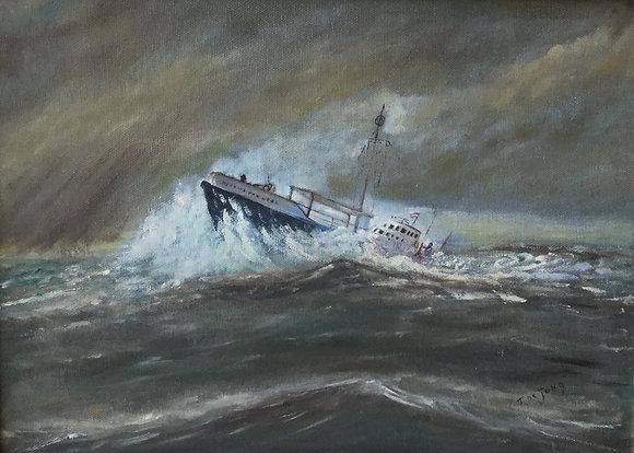 C4627, T. de Jong, Vergaand schip