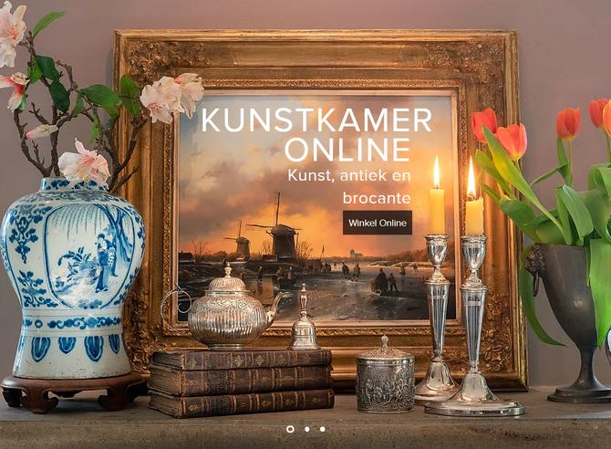WEBSHOP LIVE! KUNSTKAMER.ONLINE