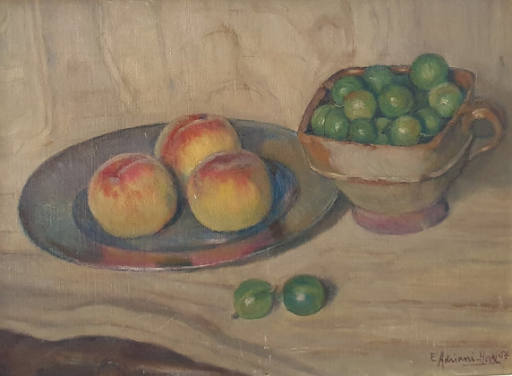 B2284, E. Adriani Hovi, Stilleven met fruit