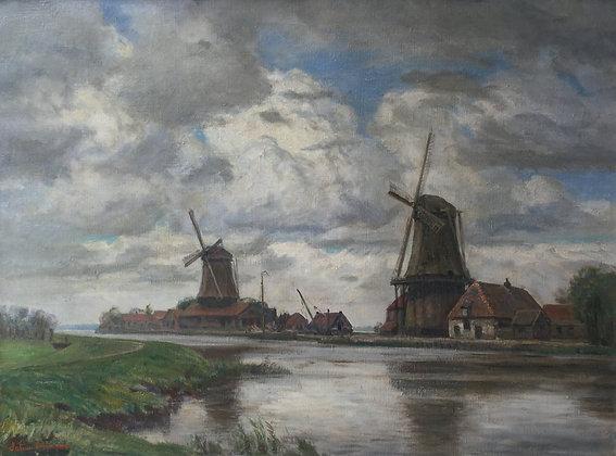 C3656, Johan Meijer, Molens bij Weesp
