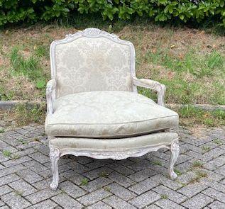 WS00258, Romantische lounge-stoel, jaren '80