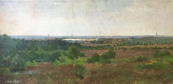 C4149-15, Jacob de Heer Kloots, Heidegezicht bij Hilversum