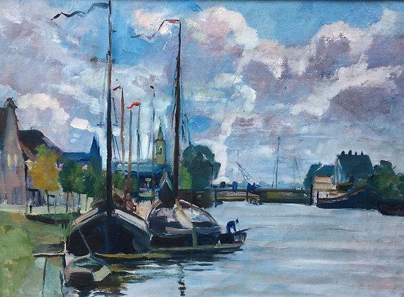 9858-6, Willem Frederik Daniels, Platbodems