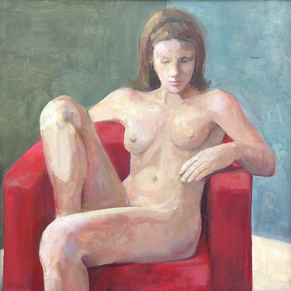 C1141-3, Valentina Cantor, Girl in the Red Chair