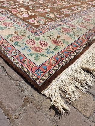 WS00138, Perzisch tapijt met rozen en vogels, 260 x 350