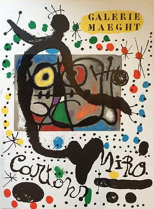 """Joan Miro(1893-1983), """"Cartons - Galerie Maeght"""", 1965"""