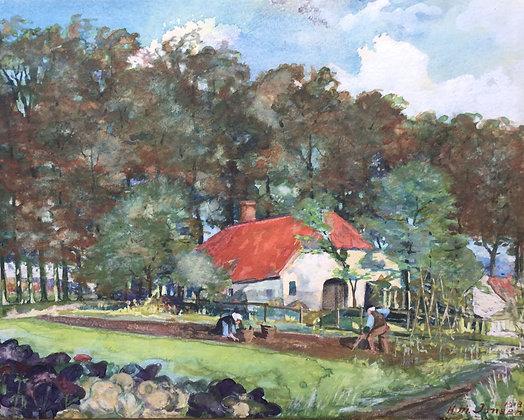 C4105-1, H.M. Jansen, Tuinieren