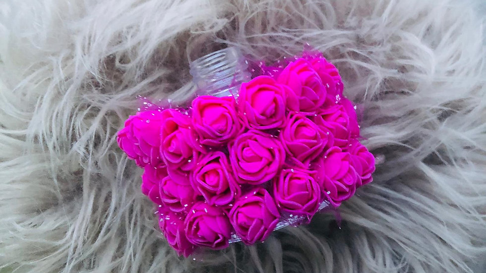 Bright Pink Flower Reed Diffuser
