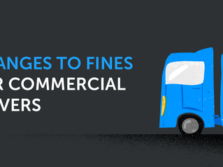 Changes to fines for commercial drivers in the UK: Tachogram can help you avoid them