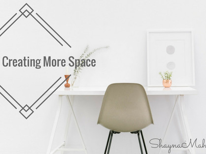 Tips for Creating Space
