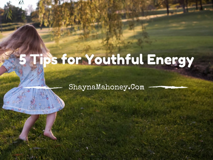 5 Tips for Youthful Energy