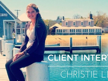 Client Interview with Christie Lee