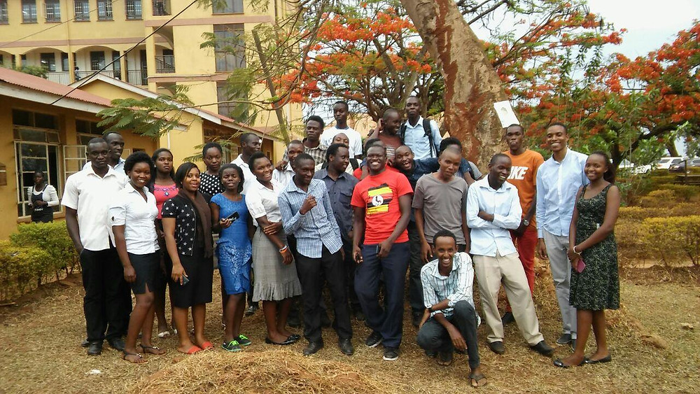 Team Mappers for Life - Uganda Christian University, Mbale