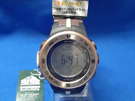[カシオ] 腕時計 プロトレック 日本自然保護協会 コラボレーションモデル ソーラータイプ PRG-330GE-5JR