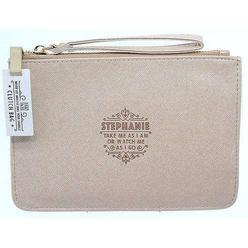 Personalised Clutch Bag - Stephanie
