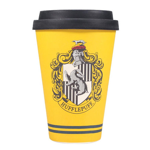 Harry Potter Travel Mug - Hufflepuff House Pride