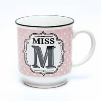 Alphabet Mugs - Miss M