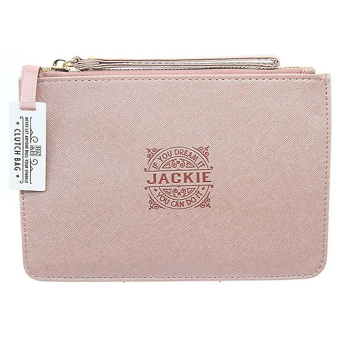 Personalised Clutch Bag - Jackie