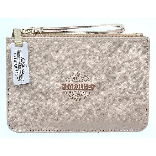 Personalised Clutch Bag - Caroline