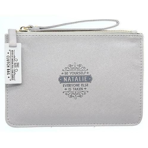 Personalised Clutch Bag - Natalie