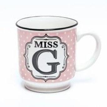 Alphabet Mugs - Miss G
