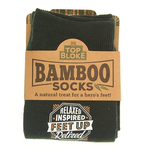 Personalised Bamboo Socks - Retired