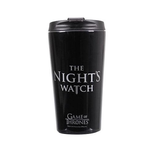 Game of Thrones Metal Travel Mug - Night's Watch