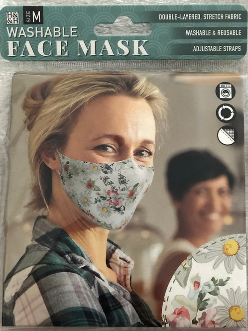 Narcissus/Daisy Face Mask (M) - 0009